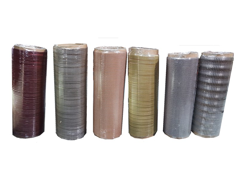 Glass Laminated Metal Mesh